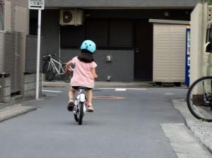 自転車乗れた