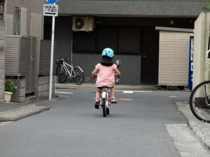 自転車スイスイ